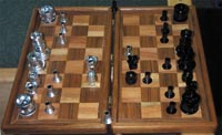 Bike Part Chess Set